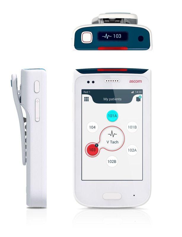 Ascom Myco Medical Device Design Wearable Device Medical Design