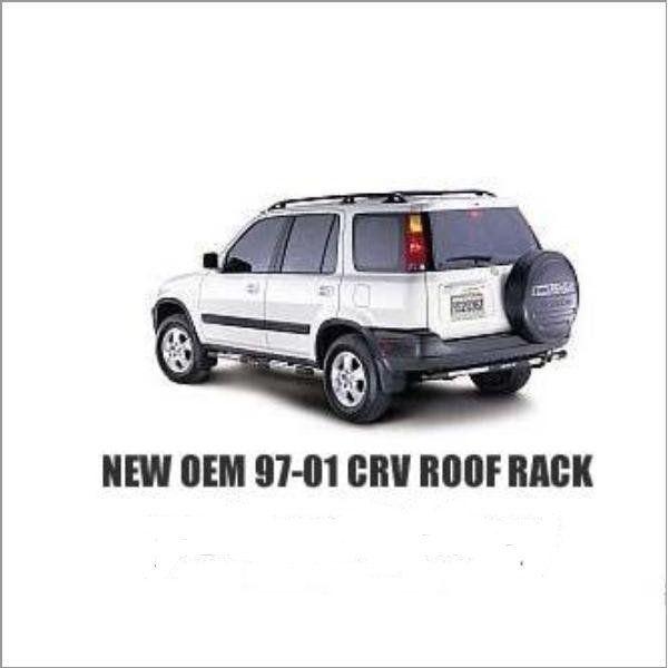 New Oem 97 98 99 00 01 Genuine Factory Honda Crv Cr V Roof Rack With Coss Bars