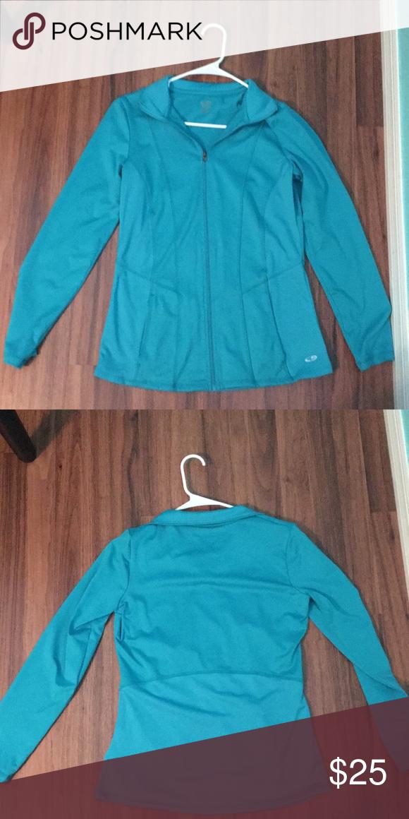 876d8bcf3479 NWOT Duo dry turquoise Champion jacket Never worn Duo dry champion  turquoise jacket. Champion Jackets   Coats