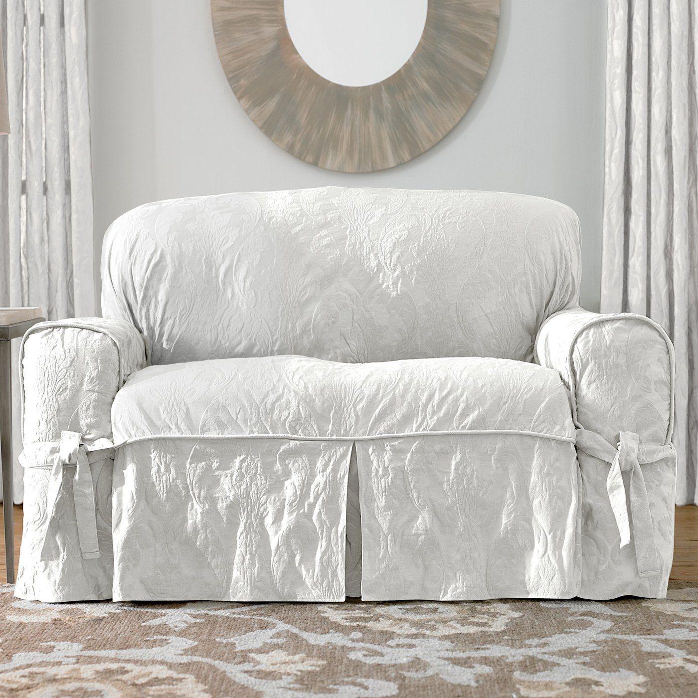 sure fit matelasse damask sofa slipcover http ml2r com rh uk pinterest com