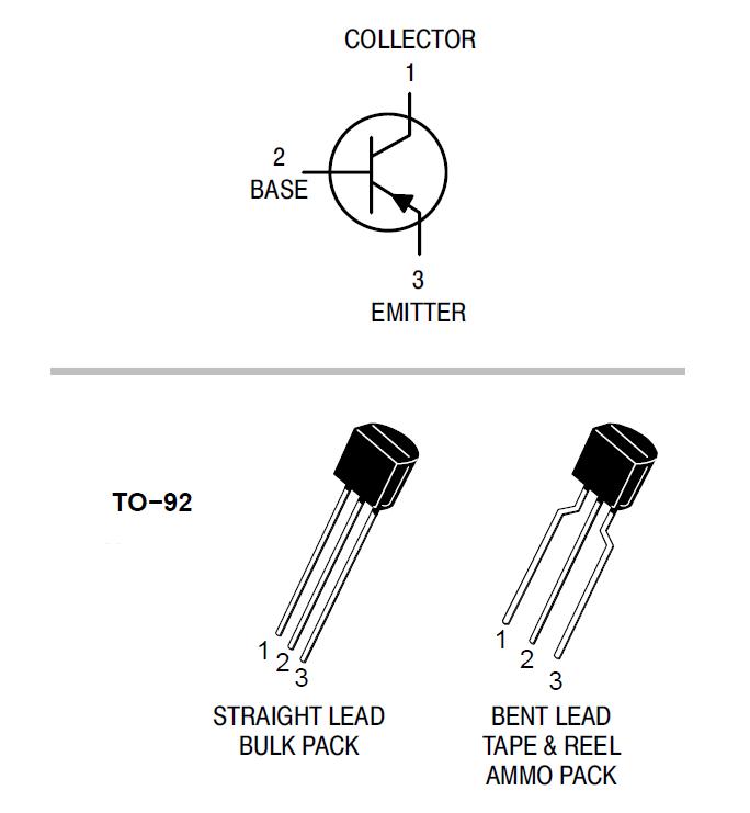 Pnp Transistors Bc556 Bc557 Bc558 Bc559 Bc560 Pin