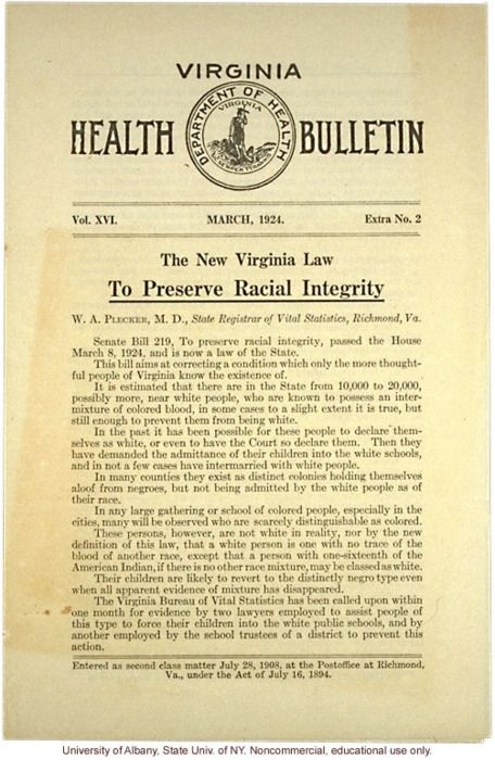 eugenics alive and well in VA