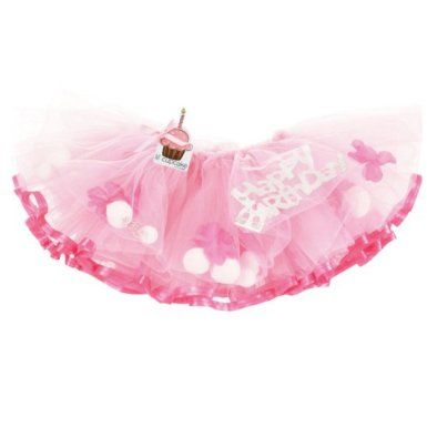 Amazon.com: Mud Pie Baby Girl Lil Cupcake First Birthday Tutu: Clothing