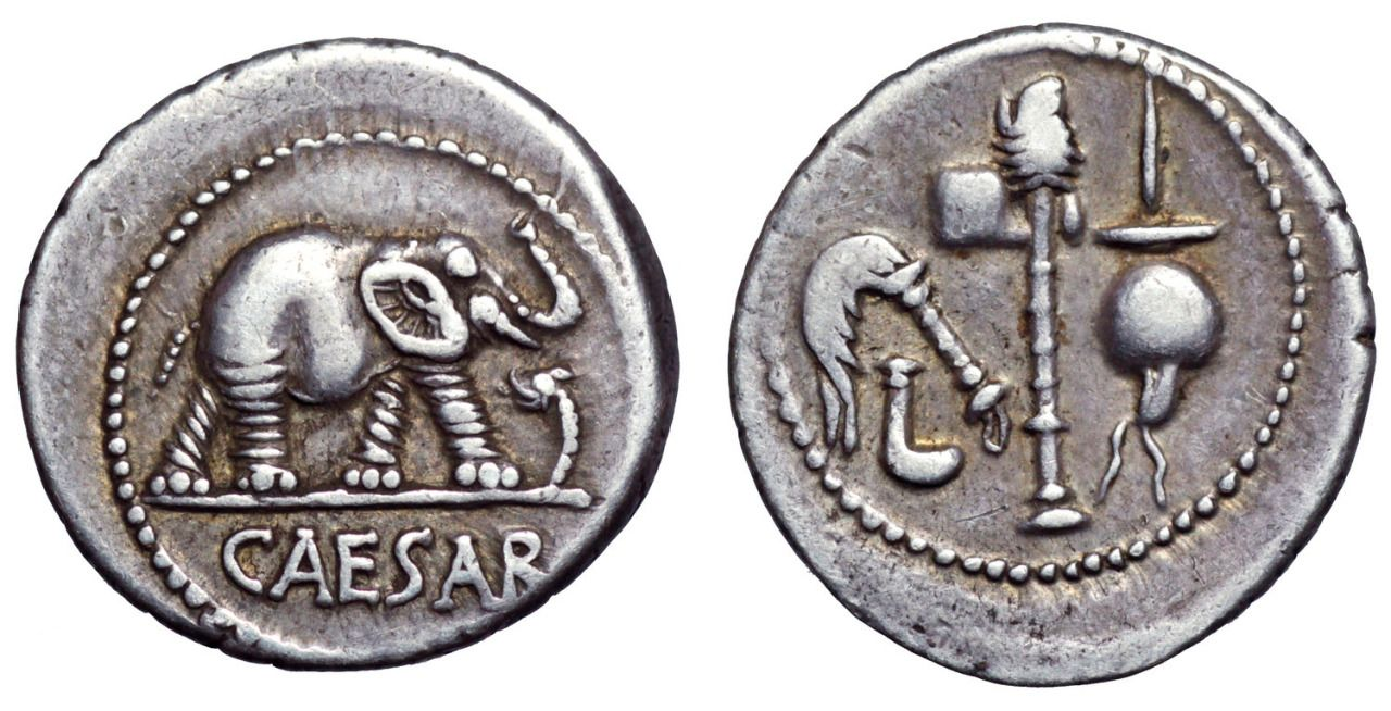 The Famous Elephant Denarius Co Coins It Appears That Many