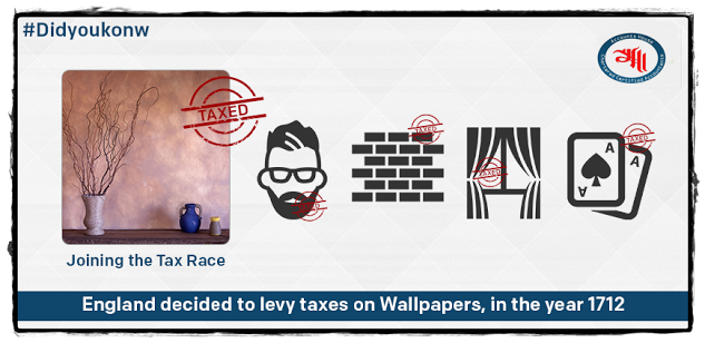 #Didyouknow  : Just when you think that the #taxes  can not get weirder, they move a step ahead!
