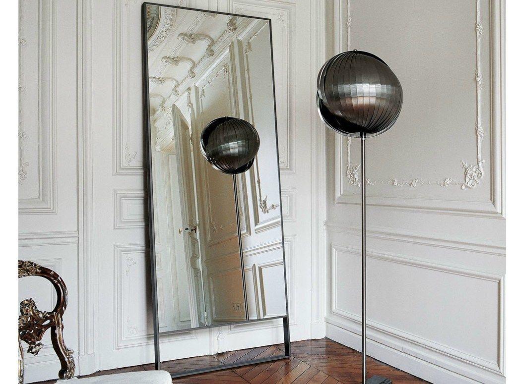 Miroir sur pied rectangulaire psiche collection psiche by for Miroir sur la lune