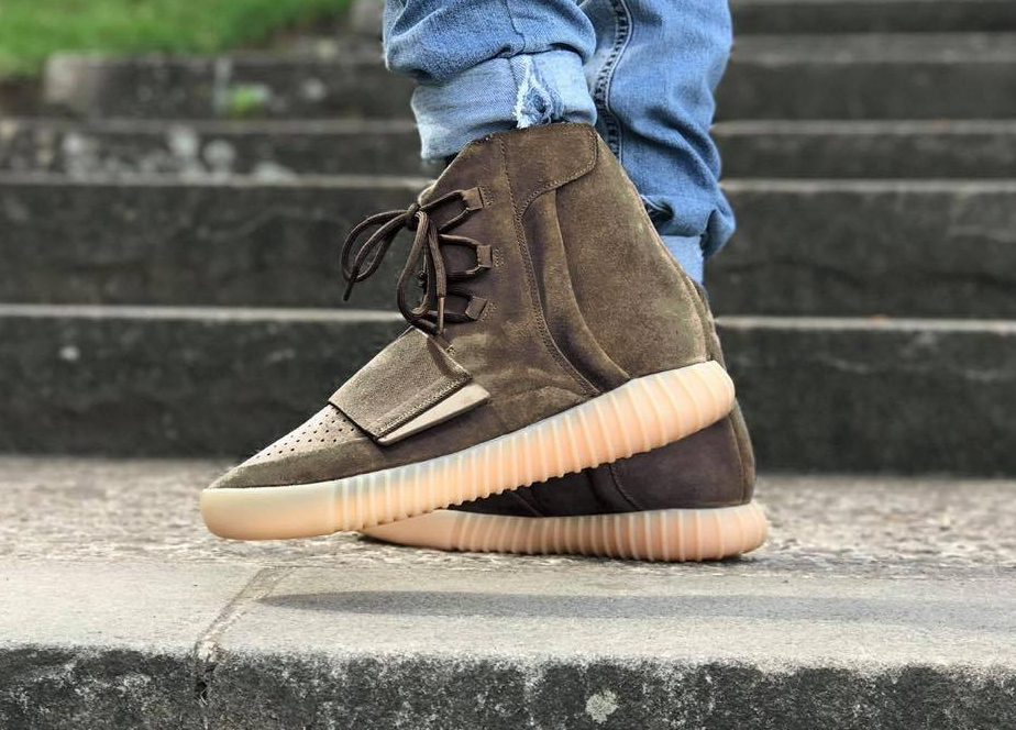 low priced 851cc 611d0 The adidas Yeezy Boost 750 Light Brown (Chocolate) Drops This Weekend