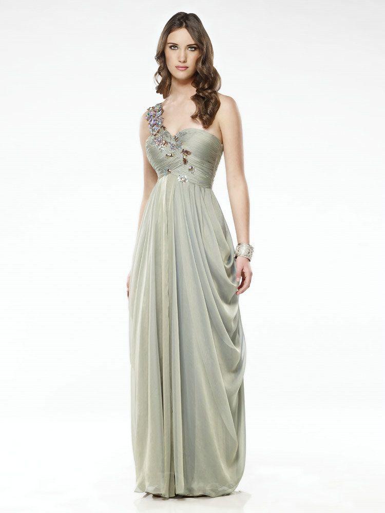 Elegant Evening Dresses | evening dresses one shoulder evening ...