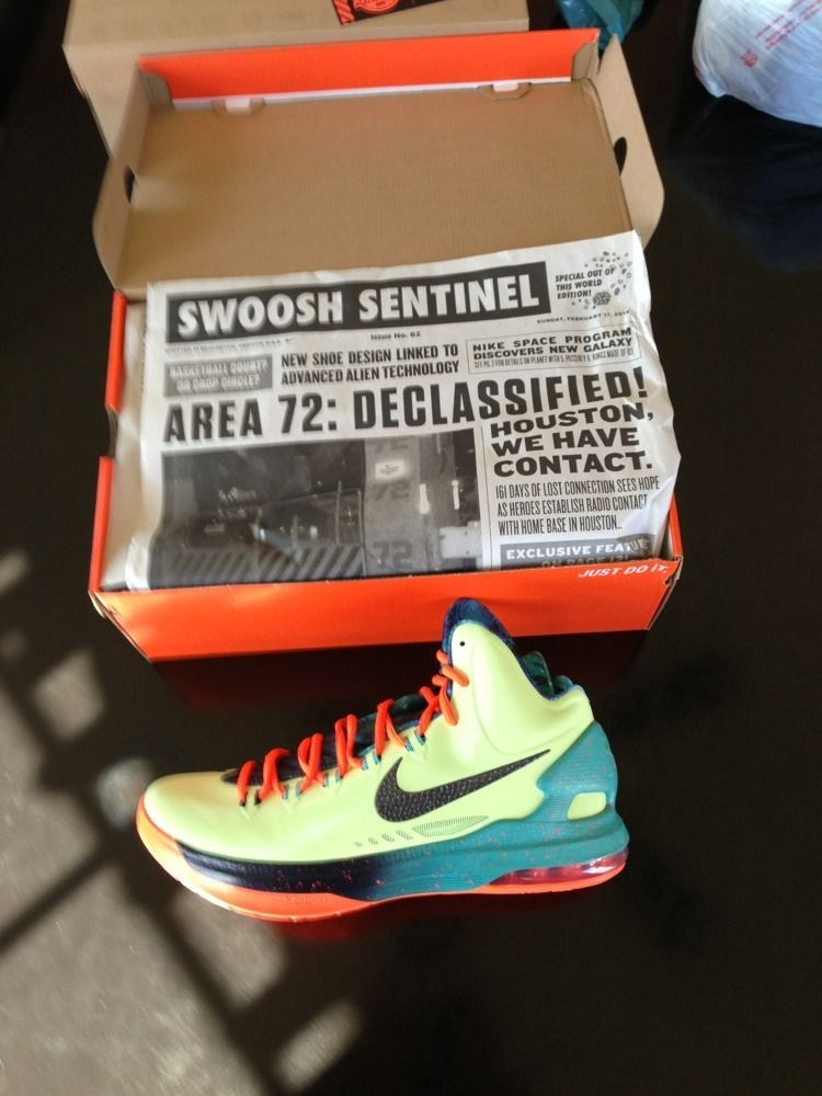 DS 2013 NIKE AREA 72 KD V ALL STAR SZ 11 KEVIN DURANT GALAXY AIR ZOOM