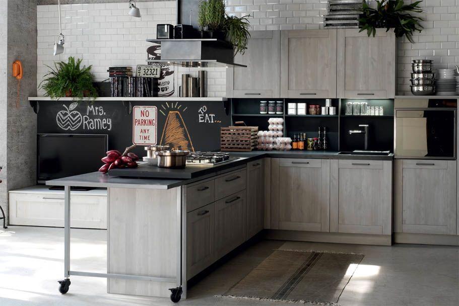 Cucine Italiane Top.Top Cucine Stosa Fenix Arredamento Cucina Industriale