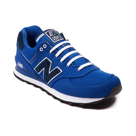 blue new balance 574