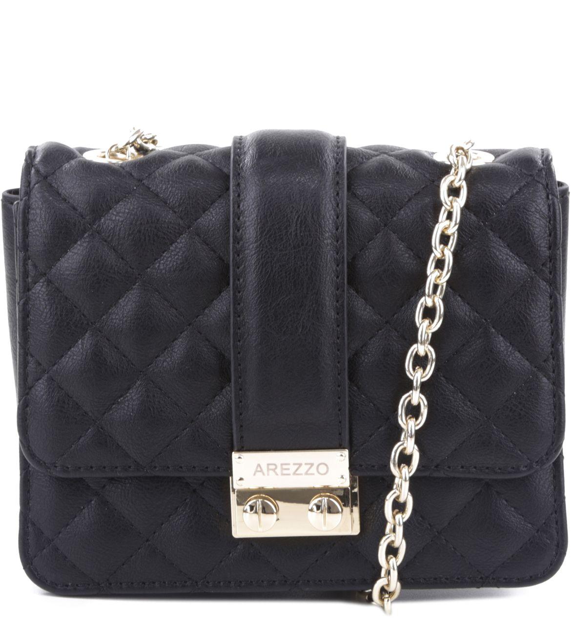 Bolsa De Especias Pequeña : Bolsa tiracolo correntes preta arezzo bolsas