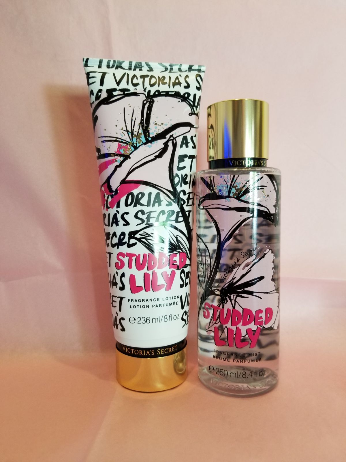 Brand New Discontinued Studded Lily Fragrance Mist Perfume