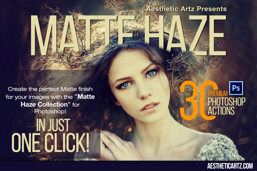 Free Download Matte Haze Photoshop Actions By Aestheticartz Effects Photoshop Colores