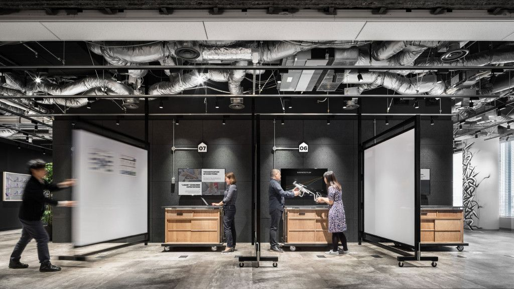 Accenture innovation hub tokyo projects gensler