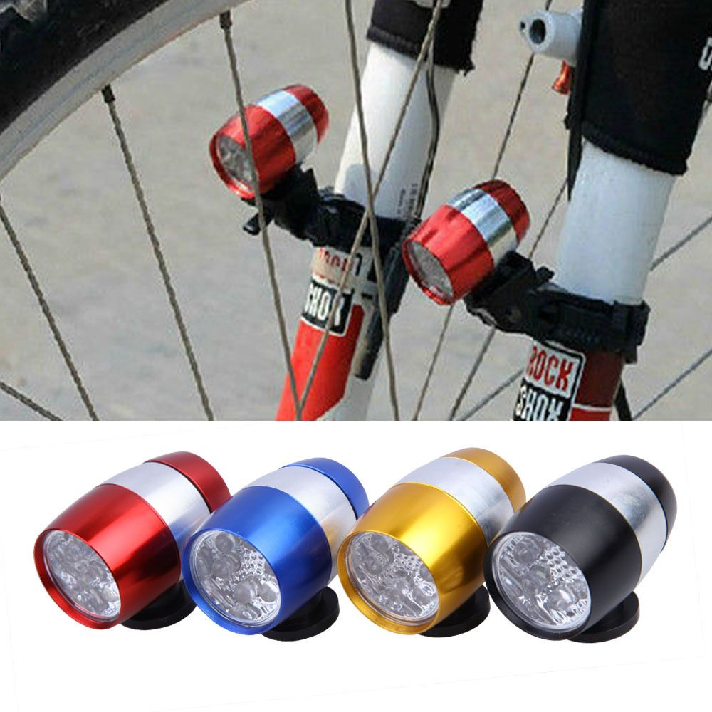 Luz Led Intermitente 6 Led Impermeable Luz Delantera De La Bici De Ciclismo Head Light
