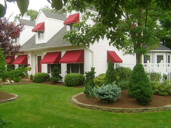 Window Awnings Traditional Style With Sunbrella Fabric House Awnings Residential Awnings Window Awnings