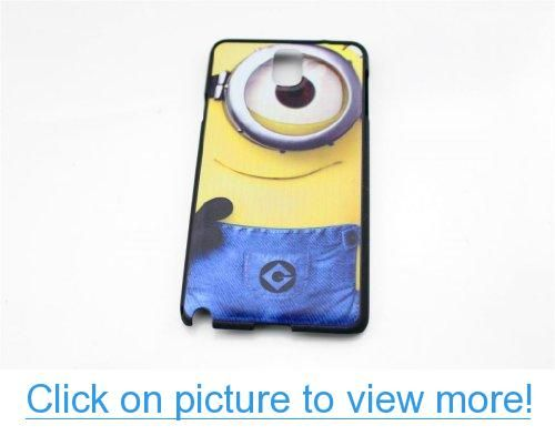 T-WELL Cute Despicable Me 2 Minion Hard Plastic Case Cover For Samsung Galaxy Note 3 III N9000 One Eye Minion