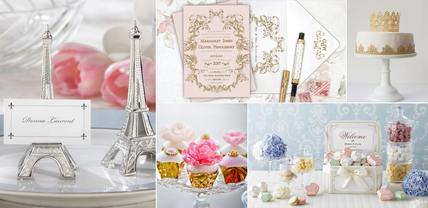 8 Luxurious & Romantic Parisian Themed Wedding Ideas We\'re Falling ...