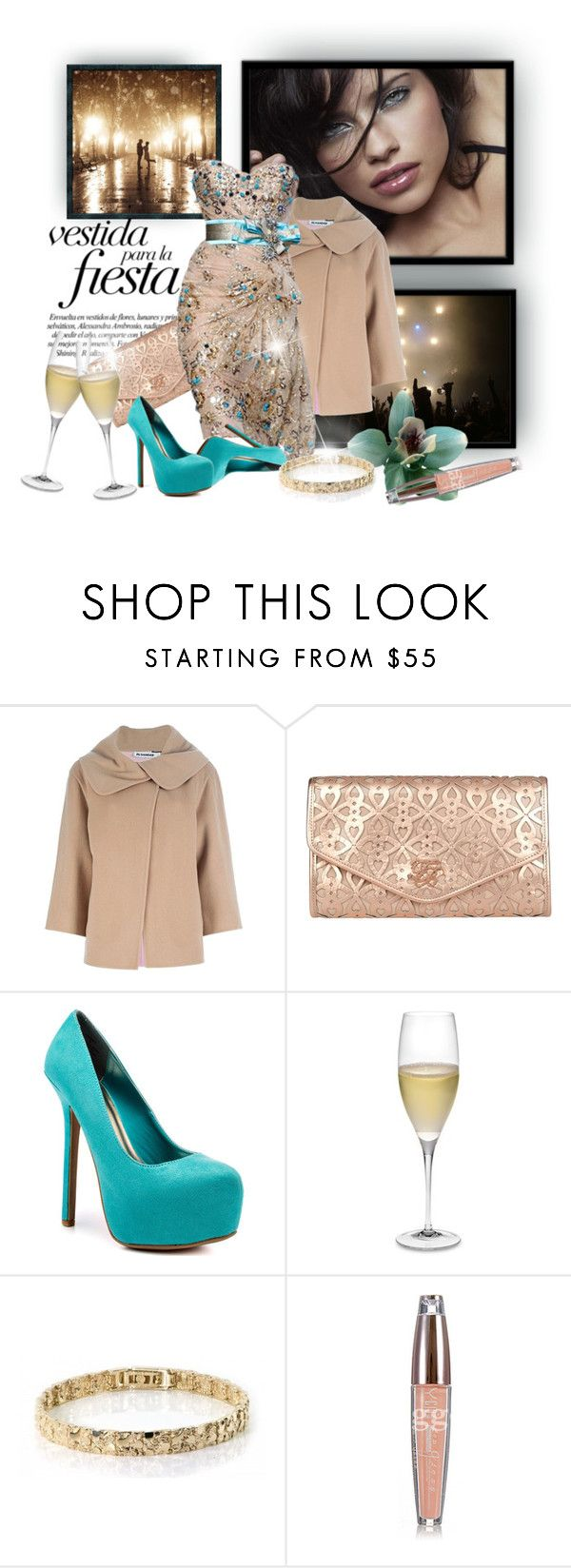 """""""Untitled #52"""" by adventureofaday ❤ liked on Polyvore featuring DuÅ¡an, Jil Sander, Ted Baker, JustFab and Riedel"""