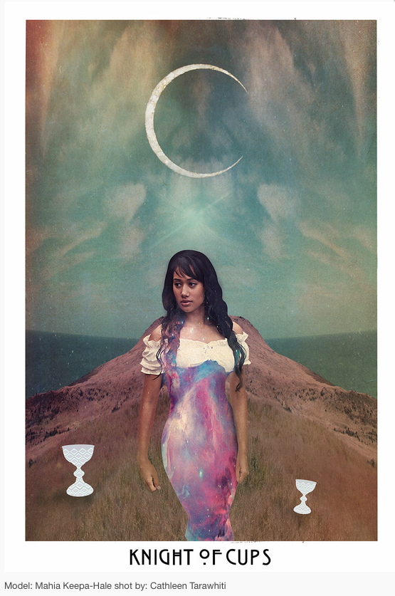 Knight of Cups. The Starchild Tarot © Danielle Noel