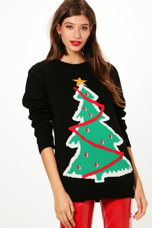 Susan Xmas Tree Christmas Jumper Christmas jumpers and Xmas tree