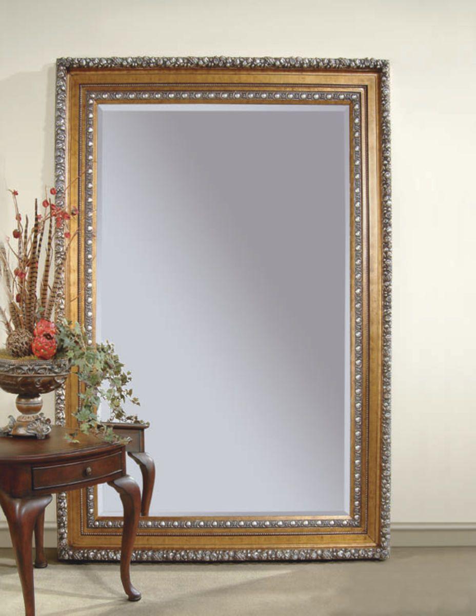 Amadeus Leaner Mirror Gold Leaf Finish The Amadeus Leaner Mirror Gold Leaf Finish Has The Following Features Manufactu Leaner Mirror Bassett Mirror Mirror