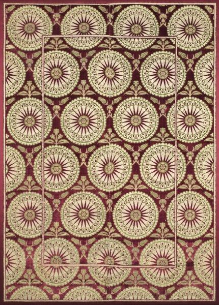 Velvet Cover with Sunbursts | Cleveland Museum of Art