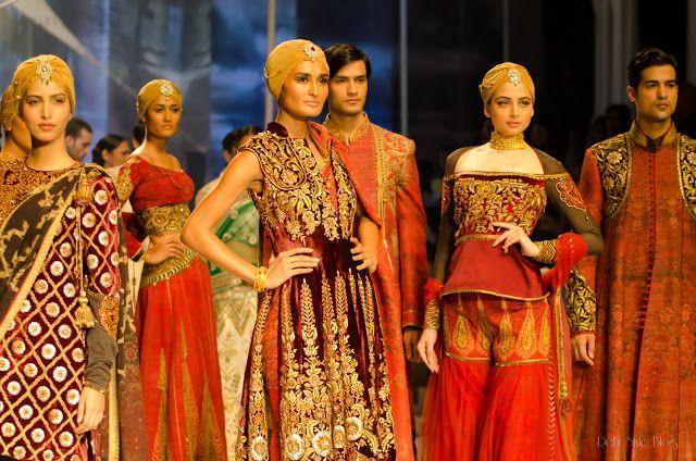 JJ Valaya India Bridal Fashion Week 2013 The Maharaja of Madrid   Delhi Style Blog