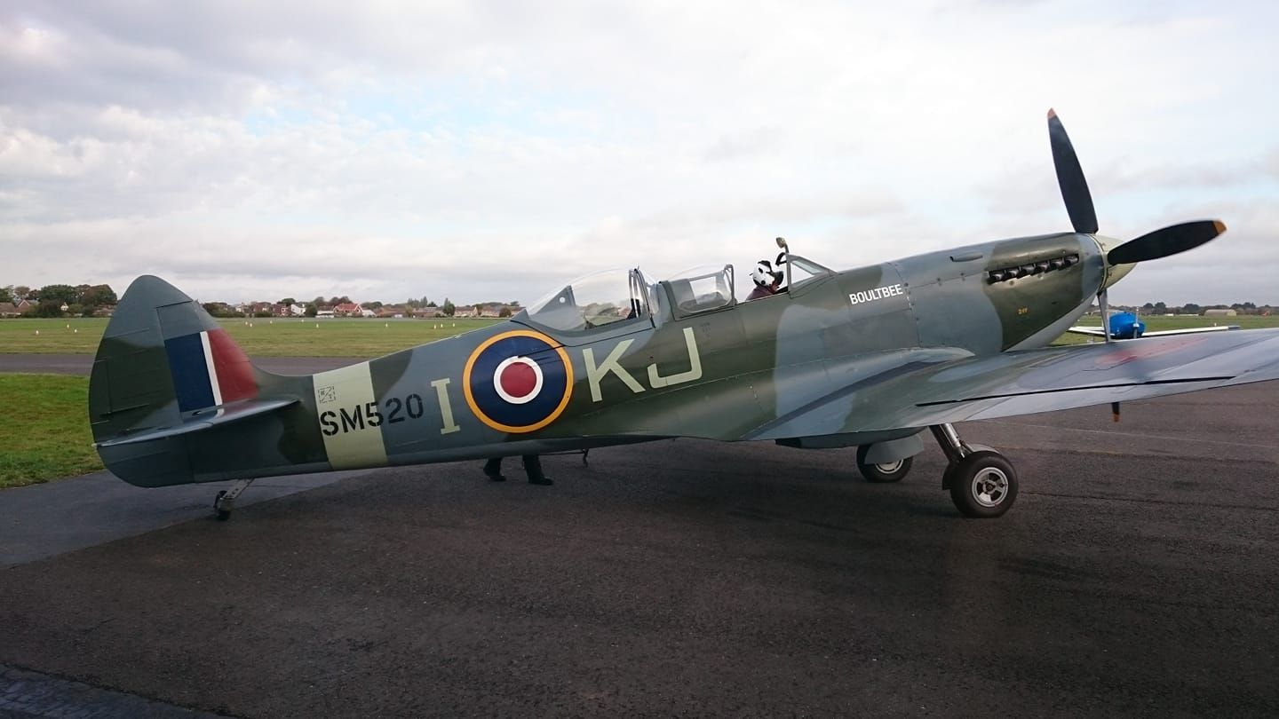 Pin on Spitfire