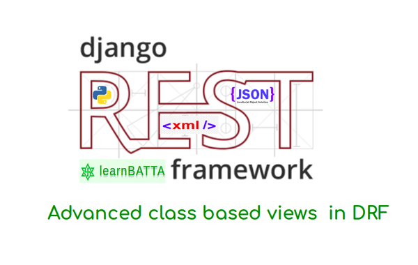 usage of advanced generic view in Django REST API's | learnbatta com