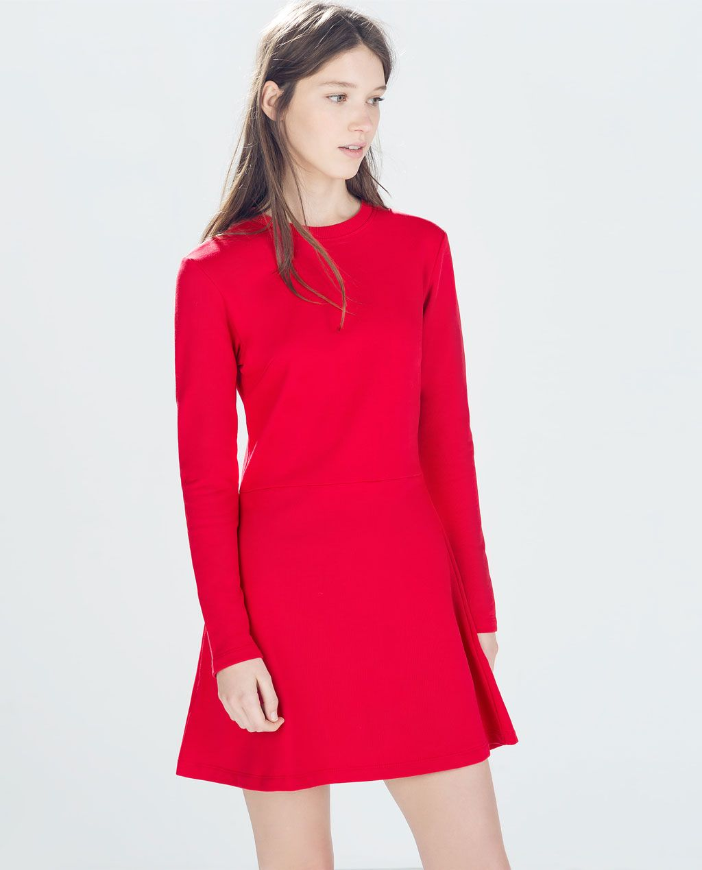 Petite robe rouge zara