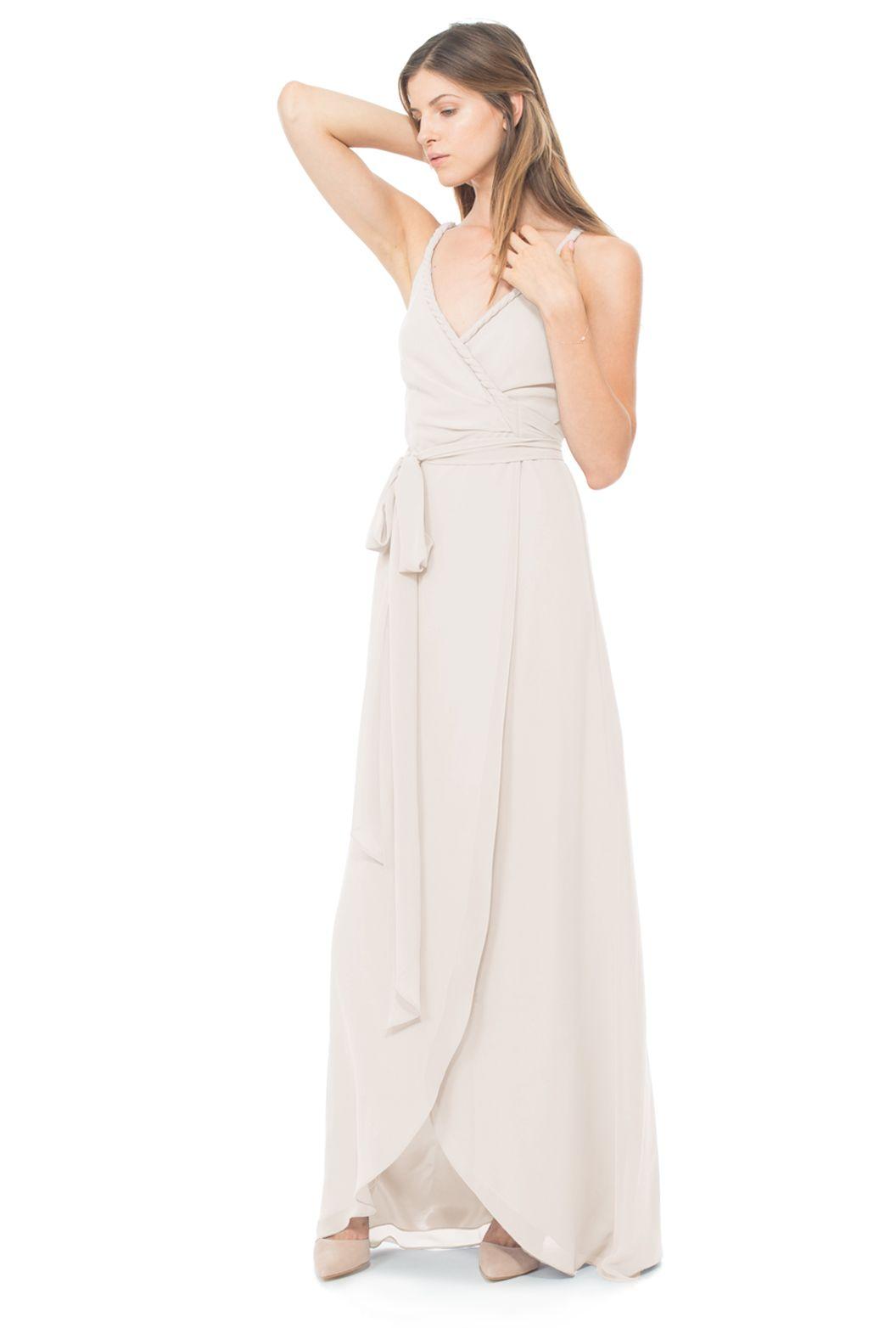 Parker long long bridesmaid dresses bridal party color schemes