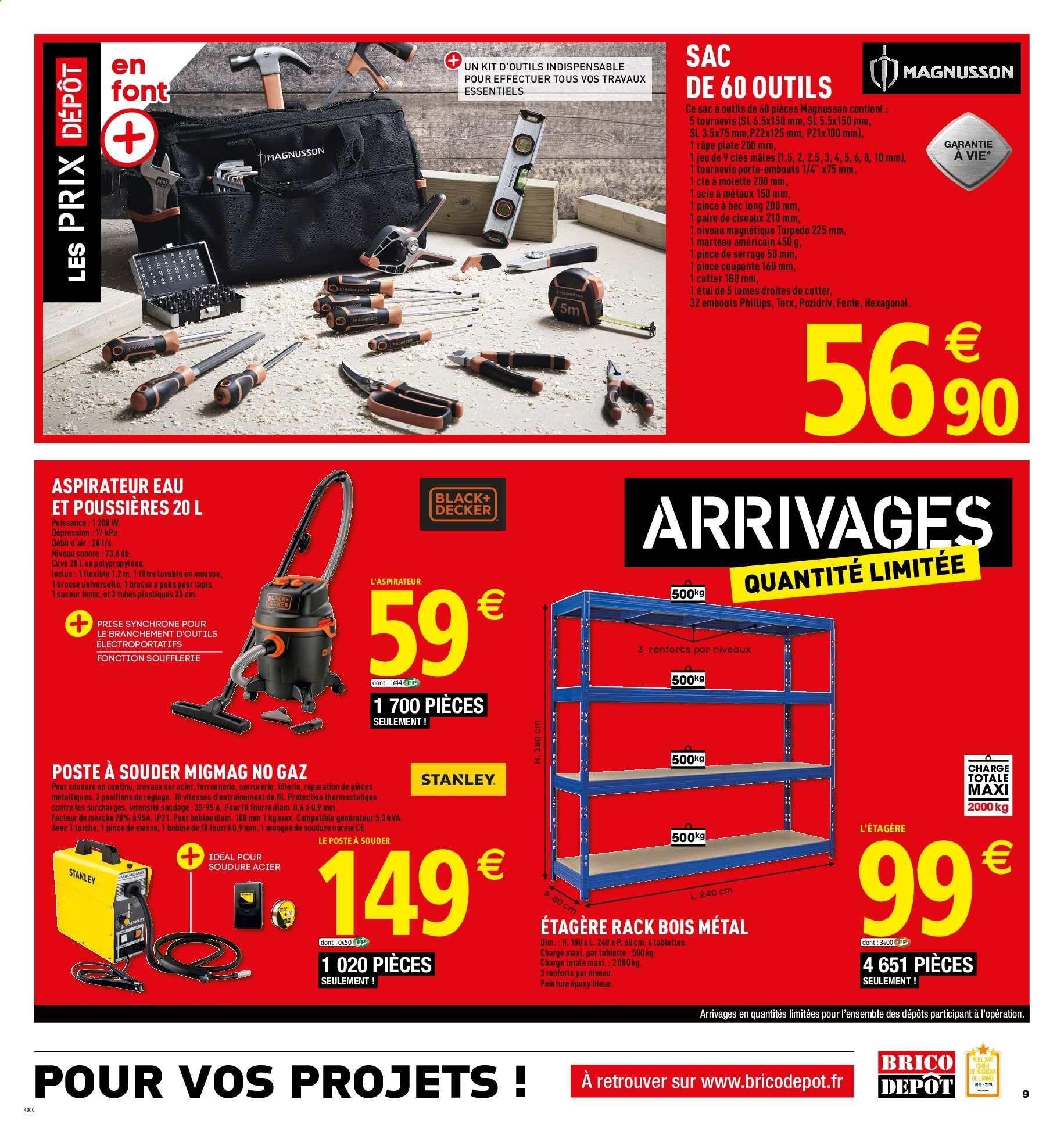 Catalogue Prospectus Pub Brico Depot 12 04 2019 25 04 2019 Vos Promos Fr Aspirateur Eau Et Poussiere Depot Pub