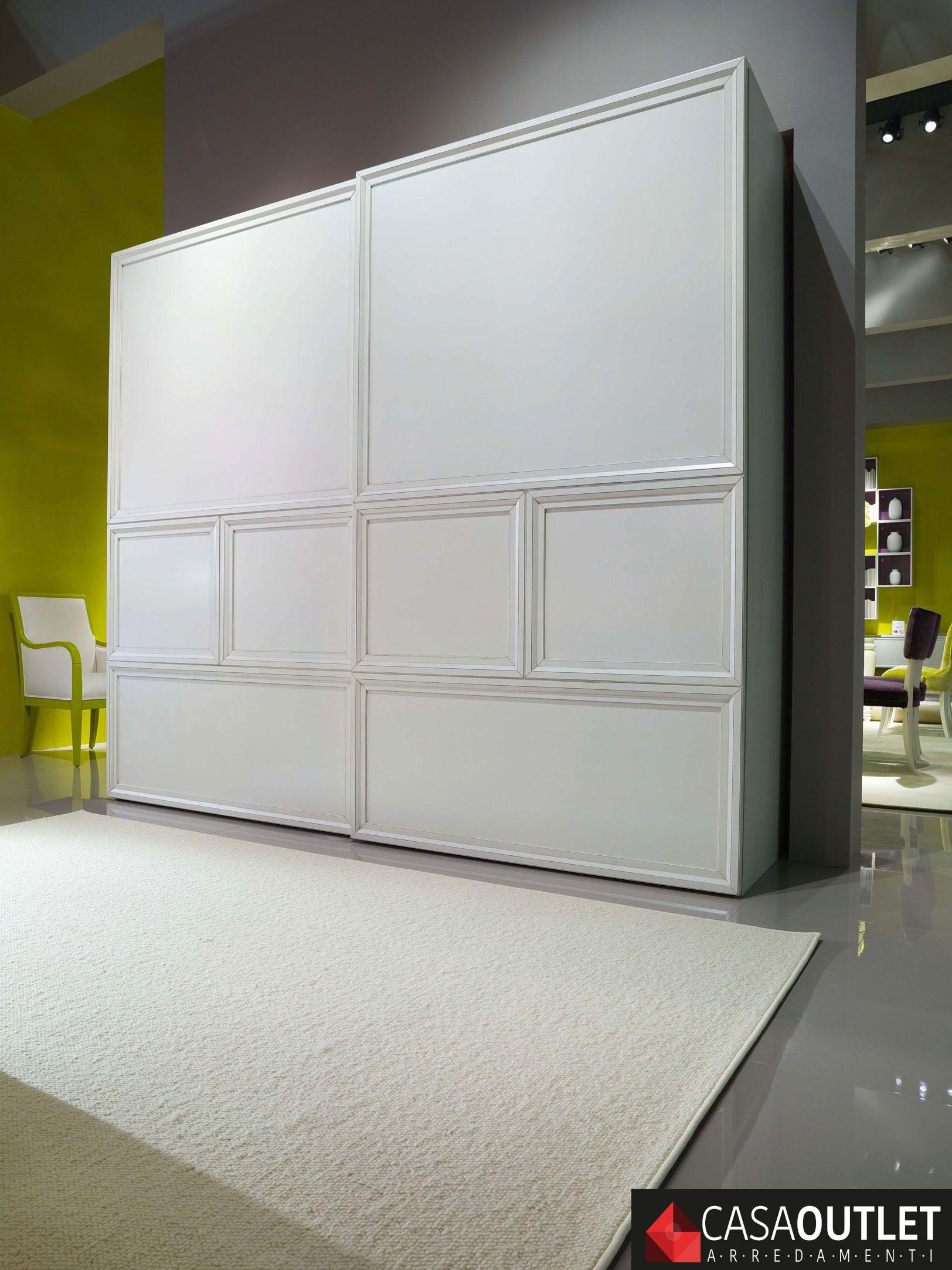 Camera da Letto Ku-Bi • Bruno Piombini #interiordesign #white ...