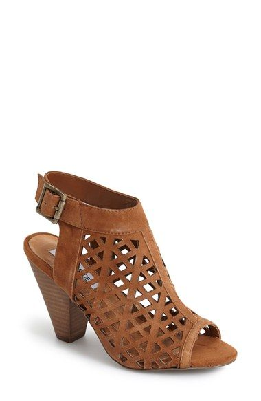 af12862f6b9 Free shipping and returns on Steve Madden  Karridi  Cutout Suede Bootie  (Women) at Nordstrom.com. An airy suede bootie is peppered with geometric  ...