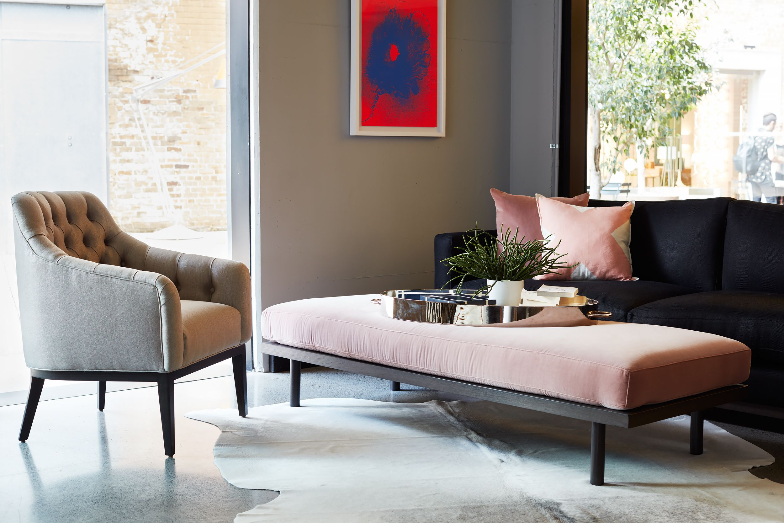 Chester Chair Darcy Ottoman And Leo MKII Sofa By Arthur G