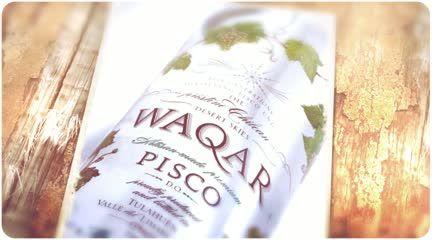 Pisco Premium, puro y transparente, con aromas a frutas blancas, azahar, original y elegante, elaborado en Tulahuén, Chile desde 1850 por la familia Camposano.