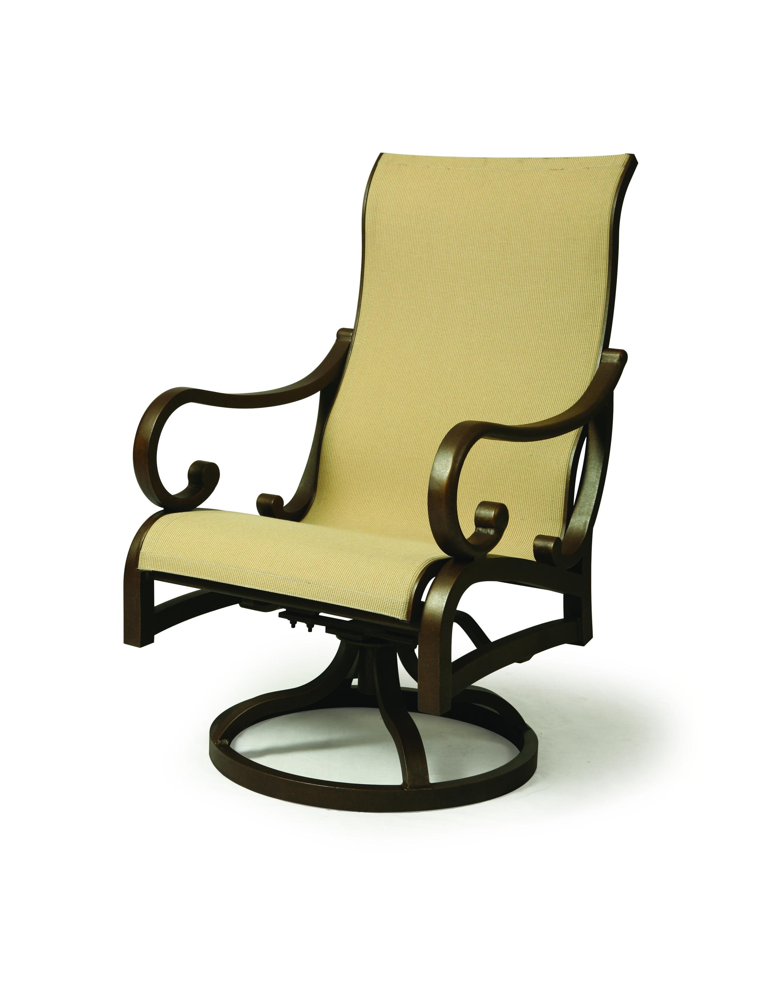 CELAYA SLING SWIVEL ROCKER Outdoor chairs, Outdoor decor