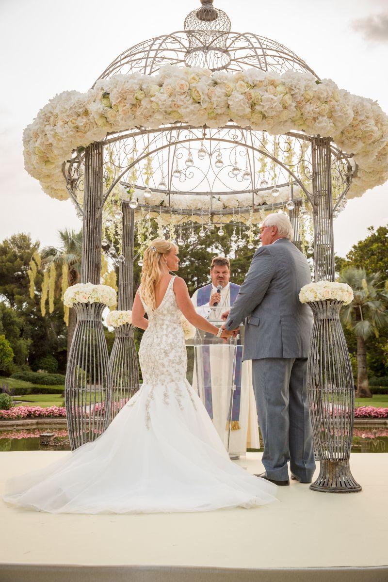 Villa Ephrussi de Rothschild wedding, French Riviera. Photography: Filmatography I Planning & Design: Lavender & Rose I B & M