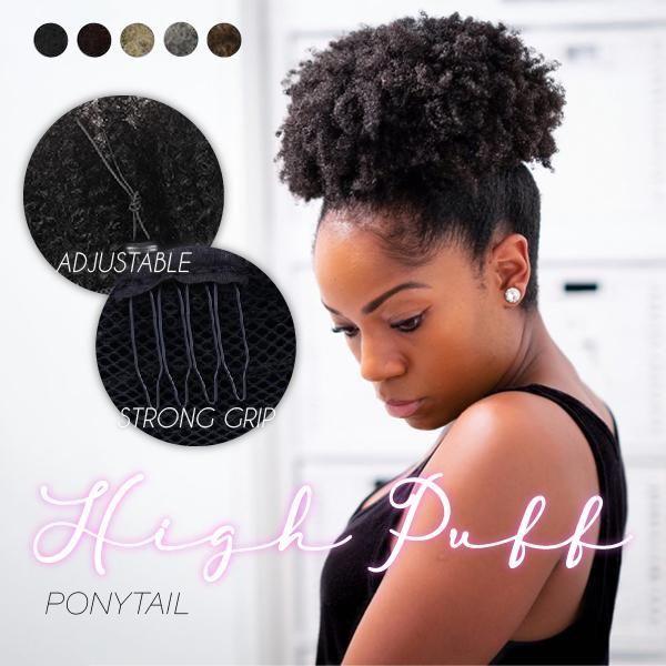High Puff Ponytail in 2020 | Puff ponytail, Ponytail ...