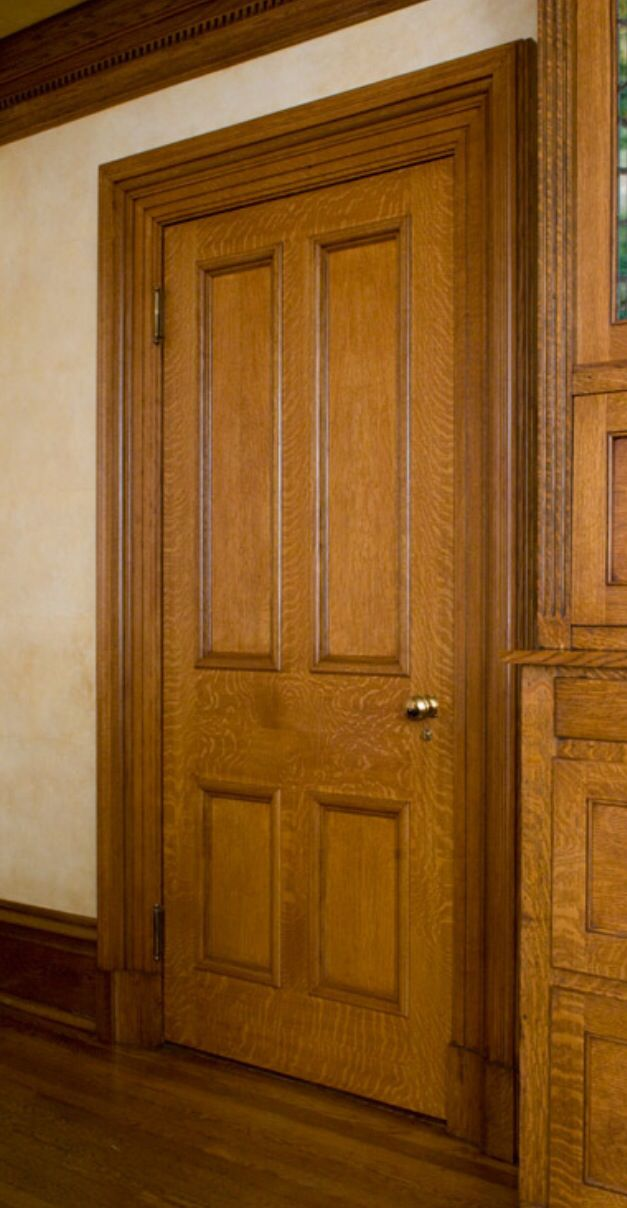 Quarter Sawn White Oak Door