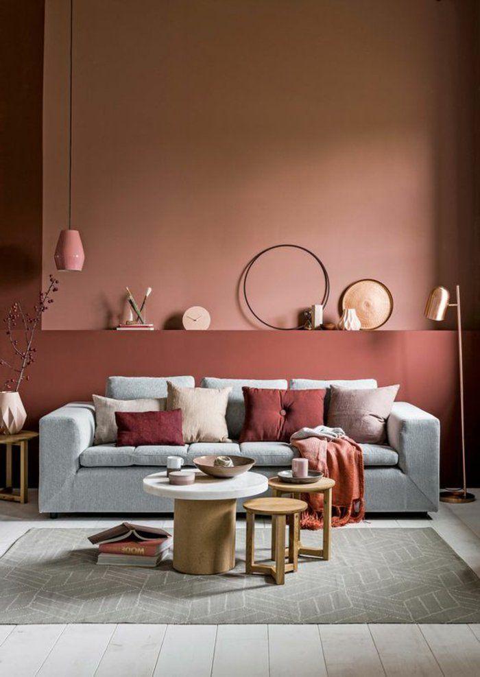 1001 id es pour votre peinture murale originale studio. Black Bedroom Furniture Sets. Home Design Ideas
