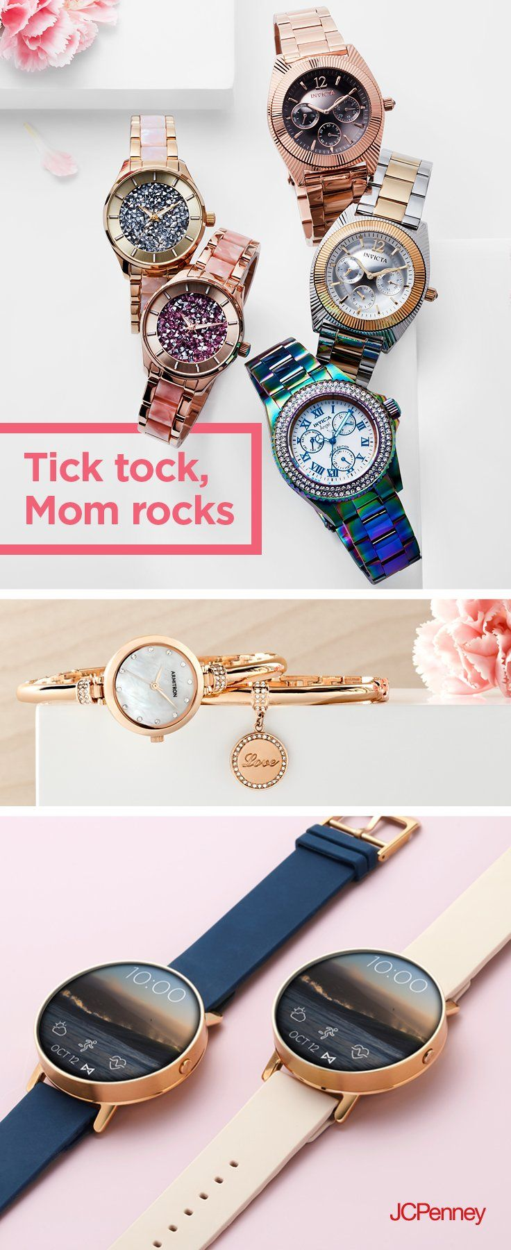 1c52bbc11 And so will your Mother s Day gift when you shop women s watches at JCPenney.  We ve got every style for every mom. Ch…