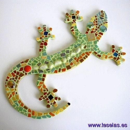 Mosaico lagarto mosaicos pinterest lagartos for Dibujos para mosaiquismo