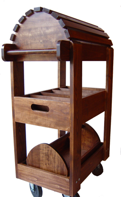.Rolling saddle stand.                                                                                                                                                                                 More