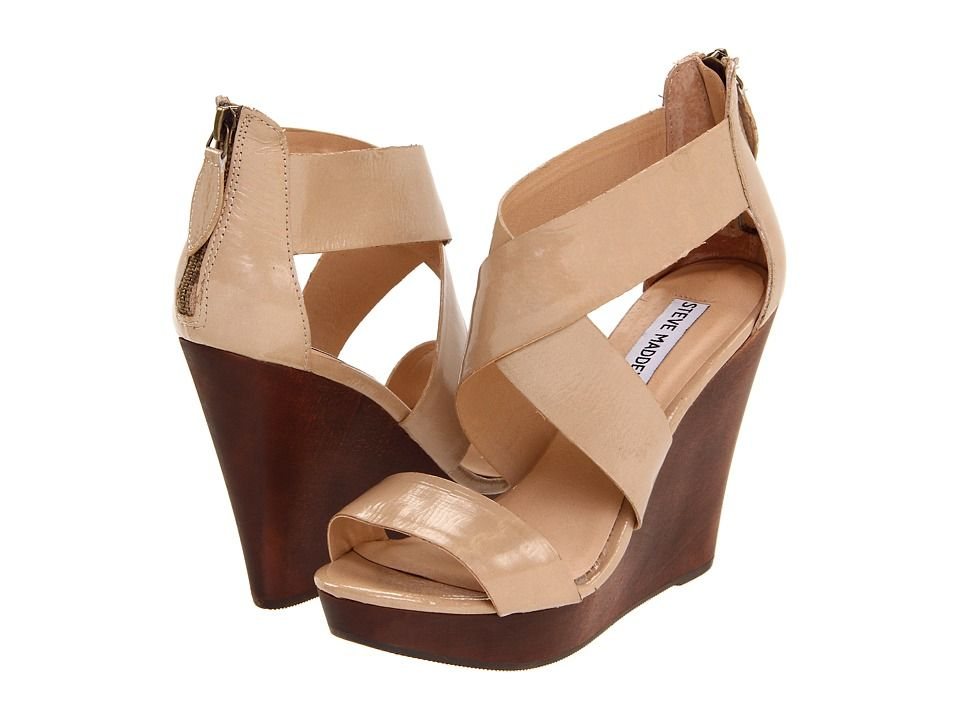 13ca2accc20 steve madden nude wedges. To go with rehearsal dinner outfit ...