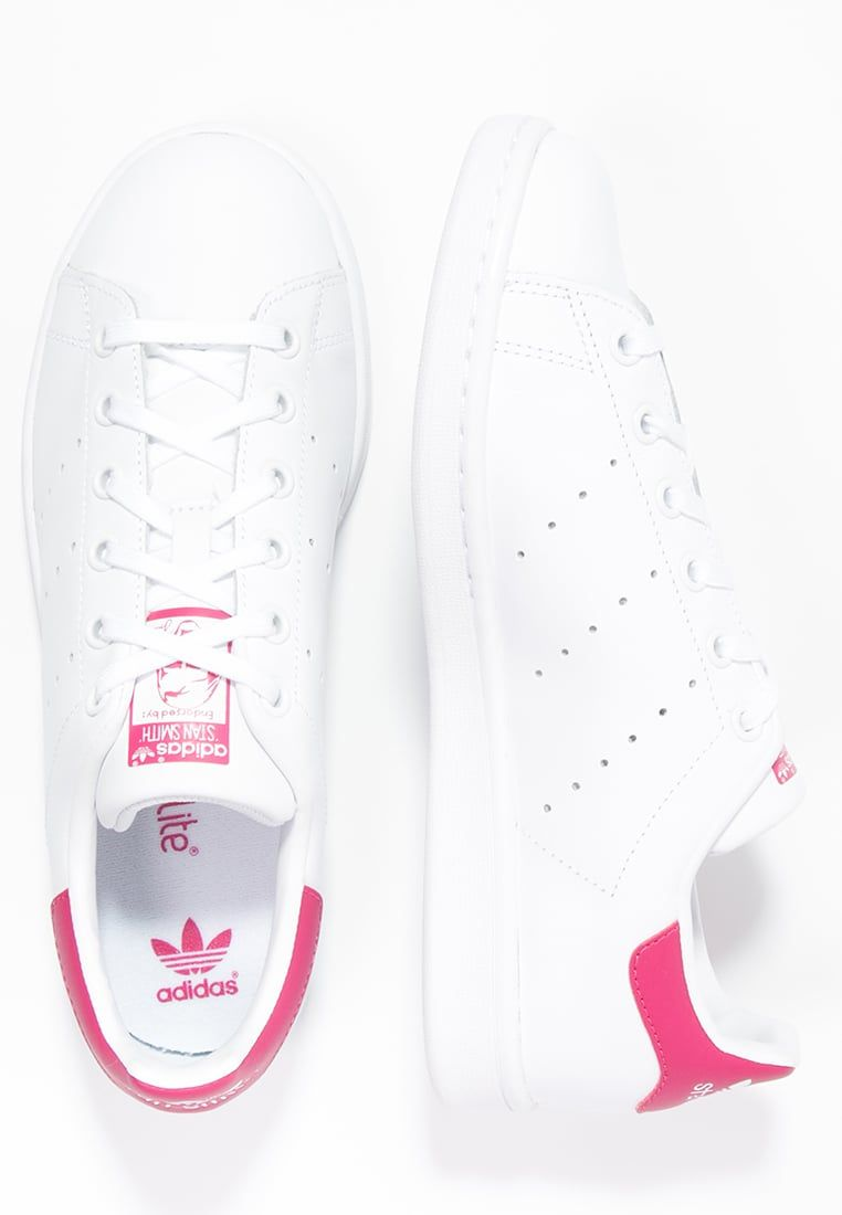 STAN SMITH - Baskets basses - white/bold pink @ ZALANDO.FR ...
