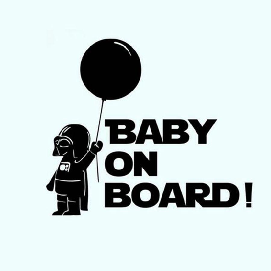 Autodekoration Star Wars Baby An Bord Reflektierende Auto