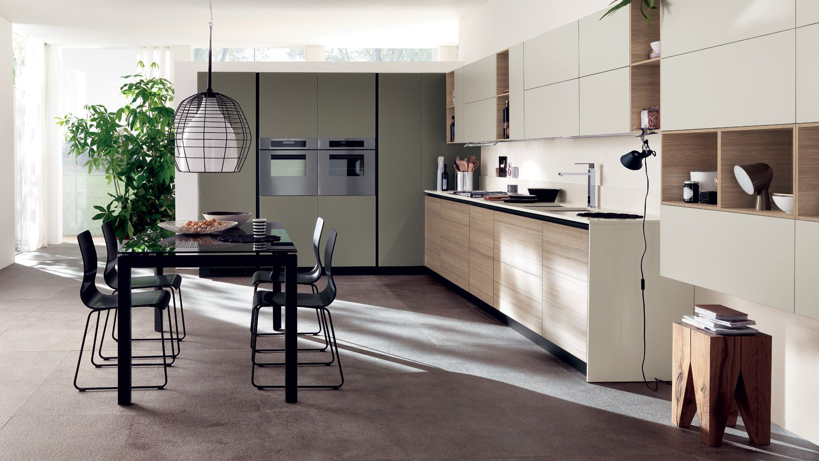 Cucina LiberaMente Scavolini | Modern kitchen furniture ...